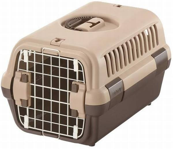 リッチェル キャンピングキャリー 超小型犬?猫用 ダークブラウン S サイズ ペット用品 犬 おでかけ用品 キャリーコンテナ