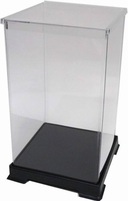 かしばこ商店 透明フィギュアケース 242440 プラスチック 組立式 W240 D240 H400mm ディスプレイケース ディスプレイケース ディスプレイ
