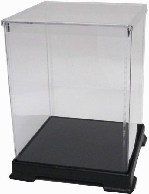 かしばこ商店 透明フィギュアケース 242432 プラスチック 組立式 W240 D240 H320mm ディスプレイケース ディスプレイケース ディスプレイ