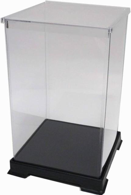 かしばこ商店 透明フィギュアケース 181827 プラスチック 組立式 W180 D180 H270mm ディスプレイケース ディスプレイケース ディスプレイ