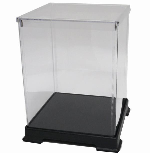 かしばこ商店 透明フィギュアケース 181824 プラスチック 組立式 W180 D180 H240mm ディスプレイケース ディスプレイケース ディスプレイ