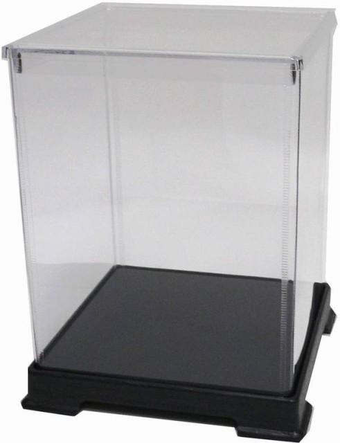 かしばこ商店 透明フィギュアケース 404050 プラスチック 組立式 W400 D400 H500mm ディスプレイケース ディスプレイケース ディスプレイ