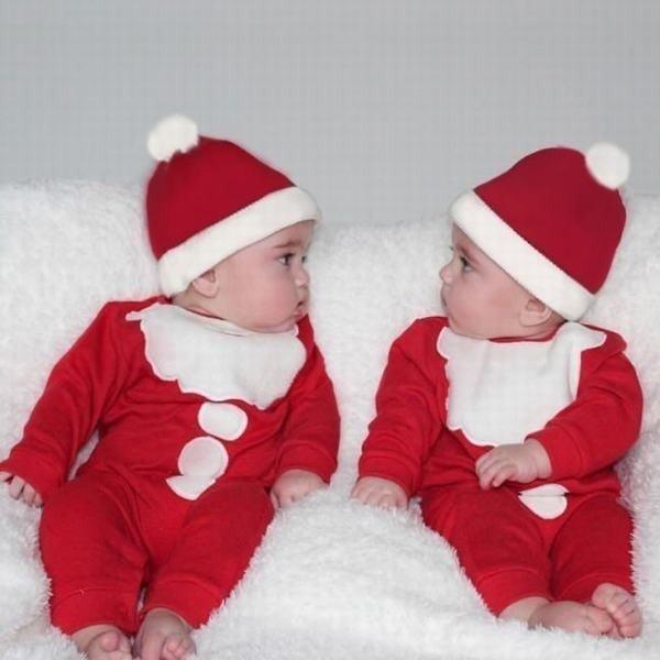 ホビー コスプレ 変装?仮装 コスチューム ロンパース 長袖 クリスマス つなぎ カバーオール サンタ ベビー 子供 男の子 女の子 ニューボ