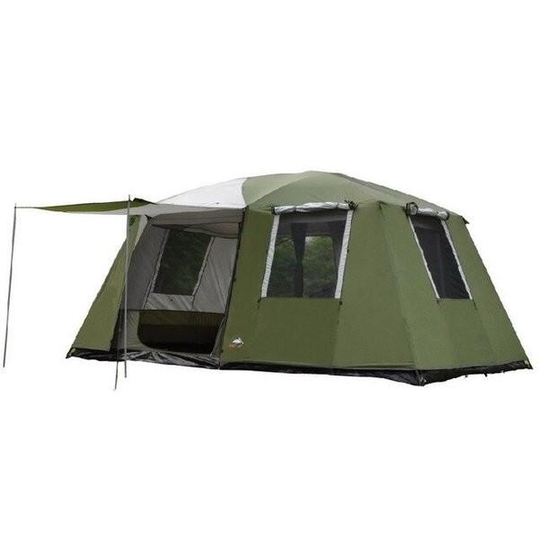 2ルームテント キャンプ 大型 二重層強力防水防風 家族向け