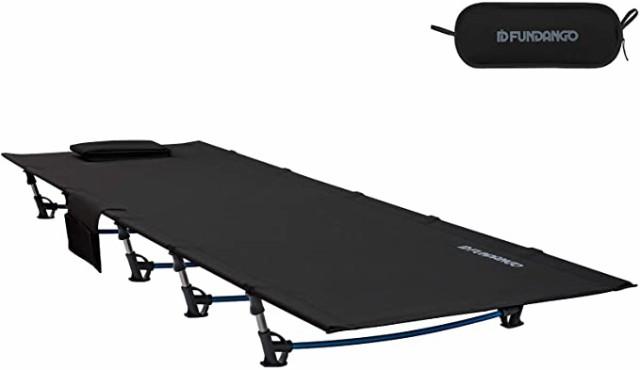 コット 200x69x17cm 折りたたみベッド 軽量 耐荷重120kg コンパクト 簡易 レジャー 昼寝 ベランダ ベッド アウトドア キャンプ ツーリン