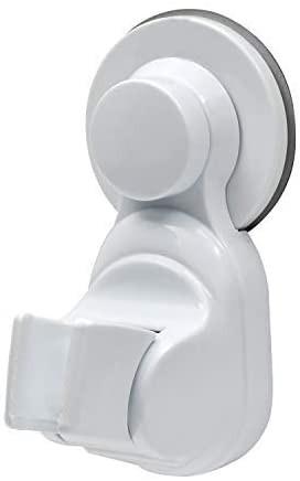シャワーフック 強粘着 シャワーヘッドホルダー 繰り返し 取り付けられて 吸盤式 無打孔 固定 角度調節可能 花こぼれ台は浴室ノズルホル