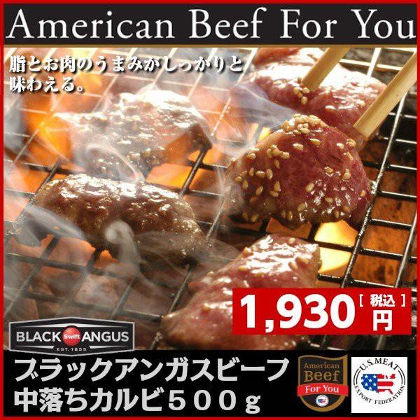 アメリカ産ブラックアンガス味付き中落ちカルビ ゲタカルビ American black angus choice ribfinger seasone