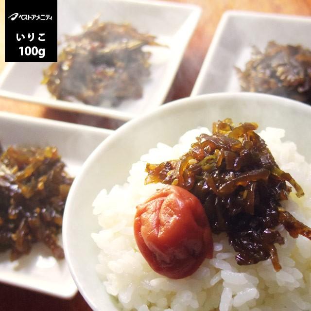 ベストアメニティ 熊本県天草産 茎わかめのつくだ煮 いりこ入り 100g