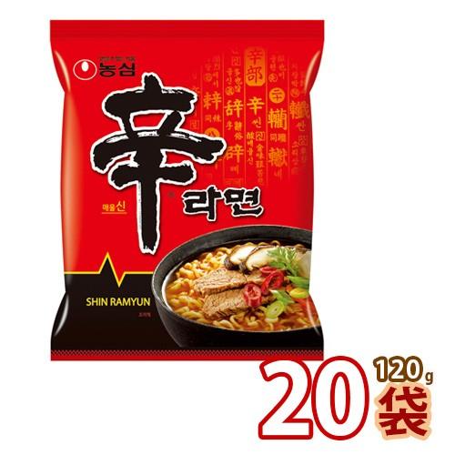 送料無料 農心 辛ラーメン140g x 20袋 (01001x20)