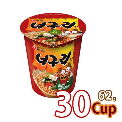 【農心】ノグリ カップ麺 ★ 62g x 30カップ ★ 【小カップ】 ■韓国食品 輸入食品 韓国食材 韓国料理 韓国お土産 韓国ラーメン 非常食