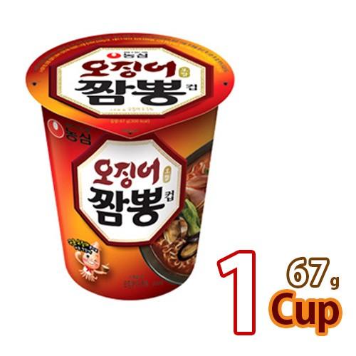 農心 イカチャンポンカップ麺69gx1個 (01041x1)