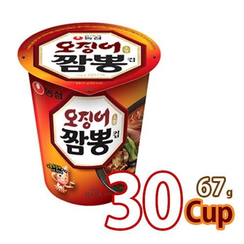 送料無料 農心 イカチャンポンカップ麺69gx30個 (1BOX) (01041x30)