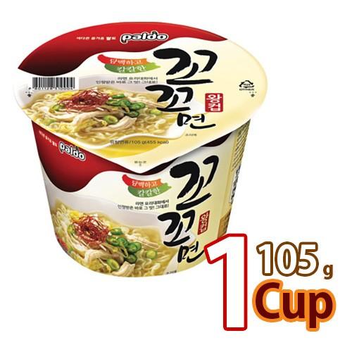 【八道】ココ麺 カップ ★ 105g x 1個 ★ 韓国ラーメン インスタントラーメン コッコメン ココメン 白いスープ (韓国風チキンラーメン)