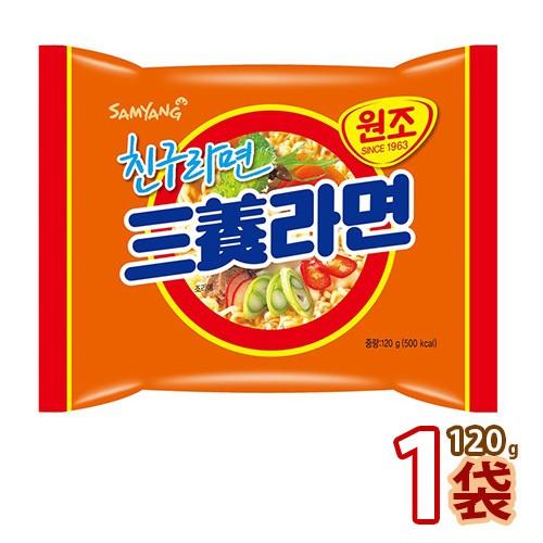 三養・SAMYANG 三養ラーメン120g x 1袋 (01301x1)