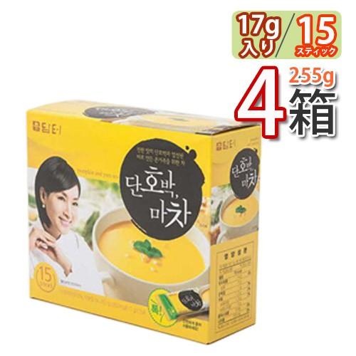 送料無料 ダムト カボチャ山芋茶 (17g×15包) 4箱(08310x4)