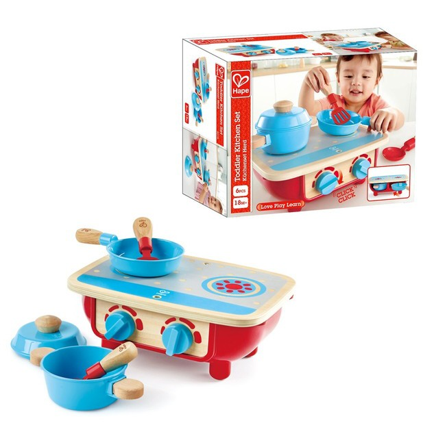 【送料無料】 どこでもキッチンセット E3170 知育玩具 Hape(ハペ)