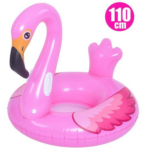 【送料無料】 フラミンゴウォーターソファー 110cm うきわ 浮き輪 フロート 水遊び プール 海水浴 インスタ映え