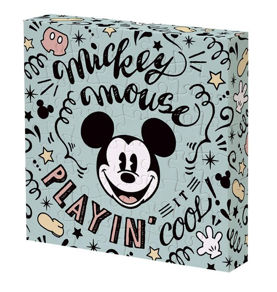 【送料無料】 ジグソーパズル 56ピース ディズニー ミッキーマウス 11x11x2cm 2303-06