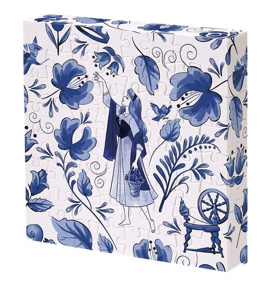 【送料無料】 ジグソーパズル 56ピース ディズニー 眠れる森の美女 オーロラ姫 11x11x2cm 2303-10