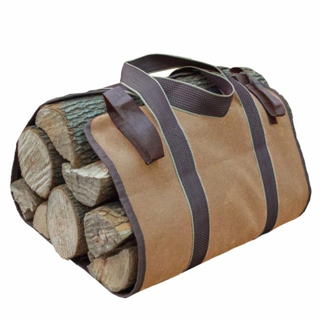 薪キャリーバッグ ログキャリー 送料無料 トートバッグ 薪運び 折り畳み アウトドア キャンプ BBQ 持ち運び用 Life Edge