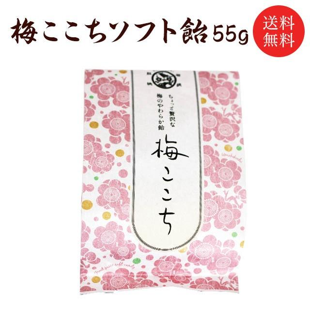 【送料無料】梅ここちソフト飴