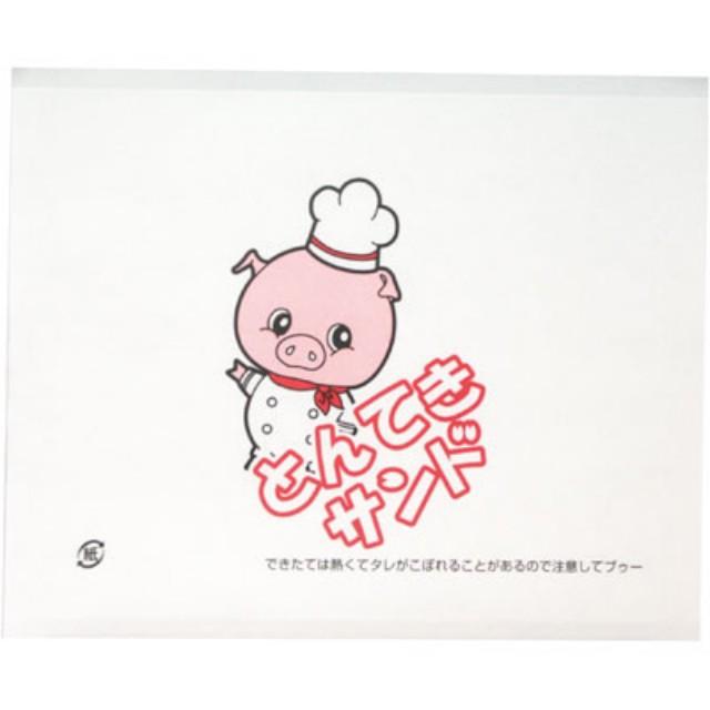 【送料無料】 ラミパック #20 とんてきサンド 6000枚 (100枚×60袋) ケース販売 箱売り | 業務用 お持ち帰り用袋 使い捨て テイクアウト