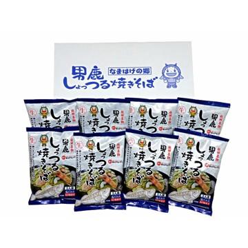 斎藤昭一商店 【秋田】男鹿しょっつる焼きそば8食
