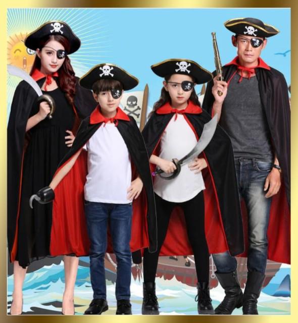 ハロウィン 海賊 衣装 子供 パーティー コスチューム 男の子 男子 大人 レディース 女性用 コスプレ コスチューム キッズ 子供 こども