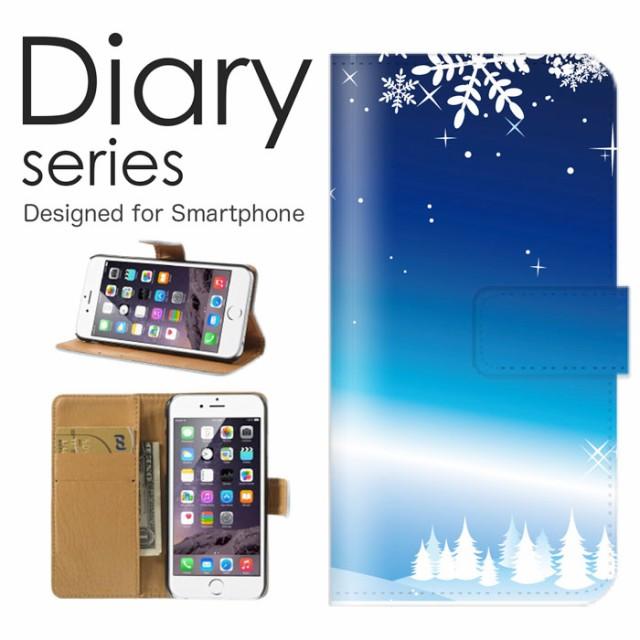 スマホケース Galaxy Note9 SCV40 SC-01L ケース 手帳型 カバー ギャラクシー ノート9 SCV40 SC-01L 手帳型ケース 送料無料 雪の結晶 冬