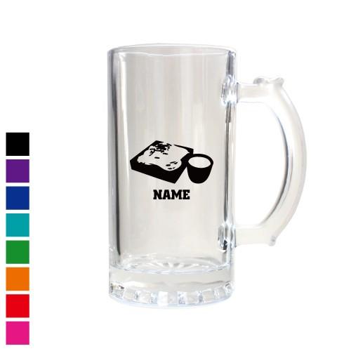 そば 名入れビアマグ 名入れジョッキ 中ジョッキ 生ビール マイジョッキ ビアグラス タンブラー お祝い ギフト ビアジョッキ soba、せい