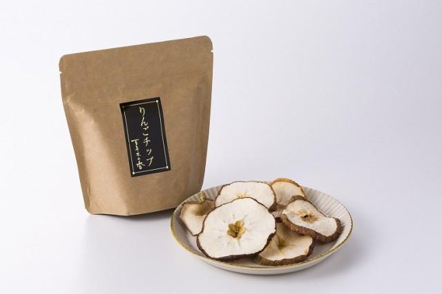 【三上農園の安心安全有機栽培のりんご】百年木の香 りんごチップス 青森県弘前市