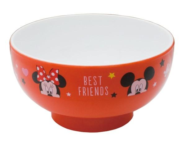ディズニー お椀 ミッキー&ミニー S5 ミッキーマウスクラブ 食器 男の子 女の子 幼稚園 保育園