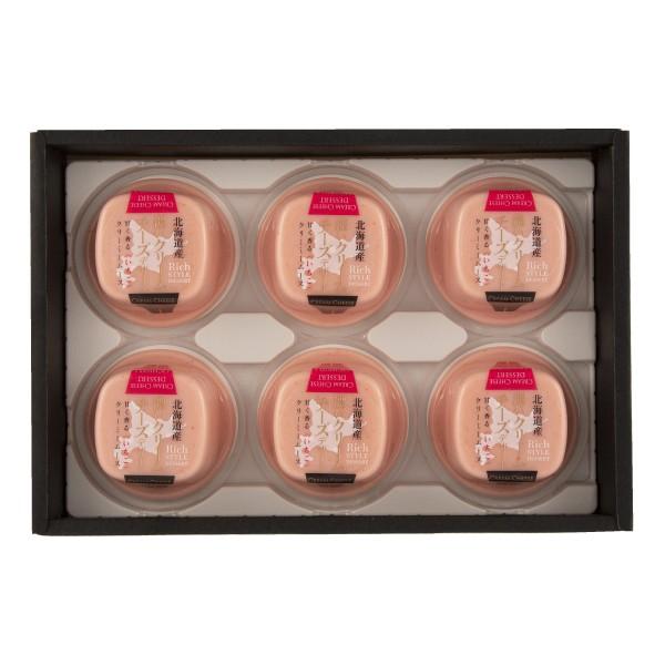 セゾンファクトリー ギフト 濃いクリームチーズデザート(いちご)6個セット【WKI-17】