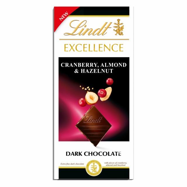 【公式】リンツ チョコレート(Lindt)エクセレンス クランベリーアーモンド&へーゼルナッツ