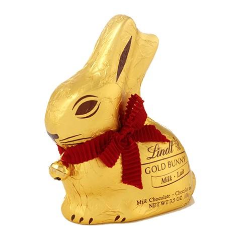 【公式】リンツ チョコレート(Lindt) ゴールドバニーミルク100g