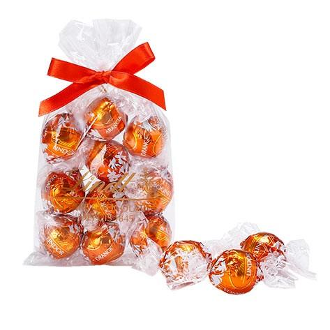 父の日 ギフト 【公式】リンツ チョコレート(Lindt)リンドール オレンジ 10個入り