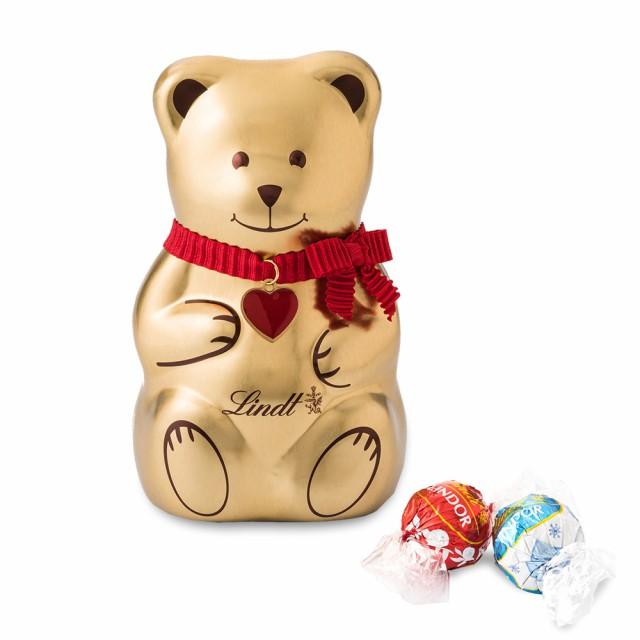 クリスマス お菓子【公式】リンツ チョコレート(Lindt)リンツテディ缶 L