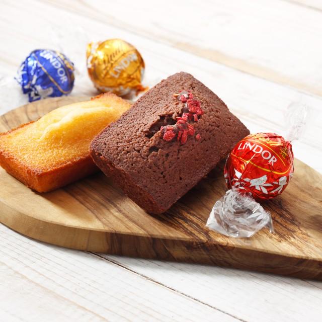 リンツ チョコレート(Lindt)焼き菓子ギフト フィナンシェ5個リンドール20個