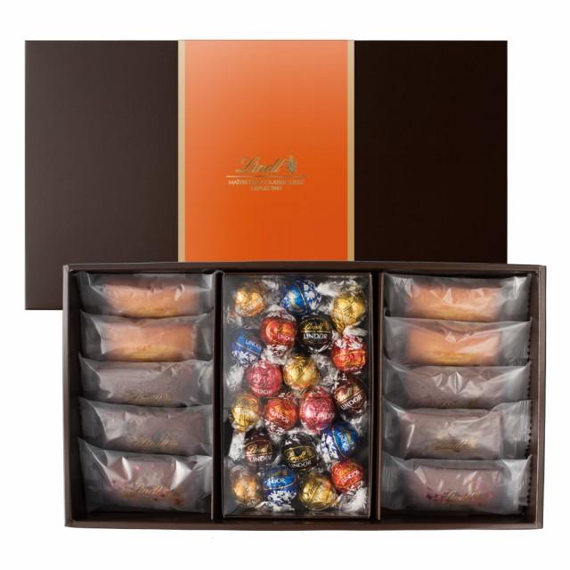リンツ チョコレート(Lindt)焼き菓子ギフト フィナンシェ10個リンドール20個