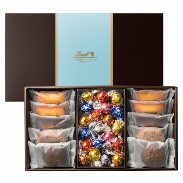 敬老の日 ギフト【公式】リンツ チョコレート(Lindt)焼き菓子ギフト フィナンシェ10個リンドール20個