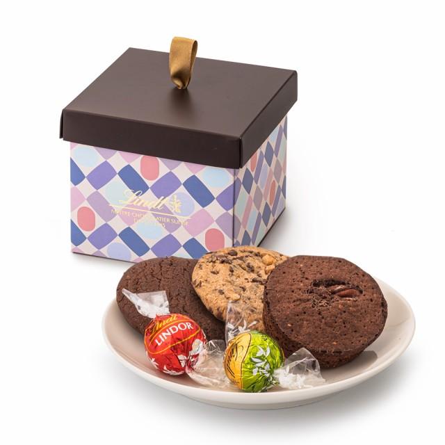クリスマス お菓子【公式】リンツ チョコレート(Lindt) リンツの焼き菓子 カジュアルギフト(リンドール5個・焼き菓子3個)