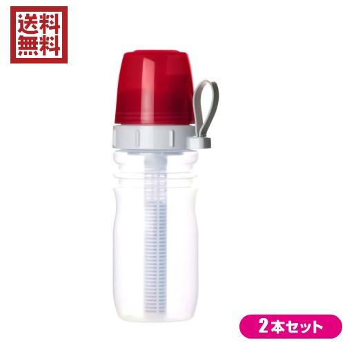 【最大27%還元】【100円クーポン】浄水器 カートリッジ コンパクト リセラマグボトル(携帯用ボトル型浄水器) 2本セット