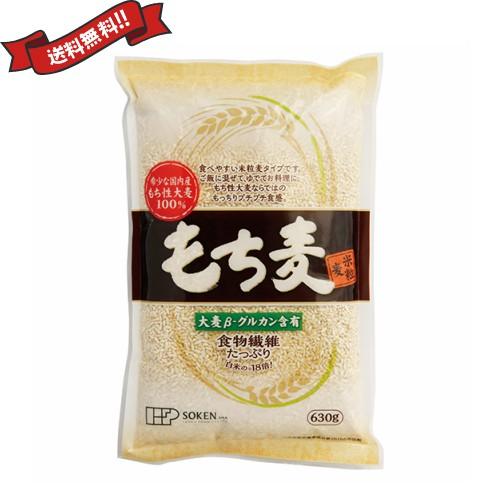 もち麦 国産 ごはん 創健社 もち麦(米粒麦) 630g