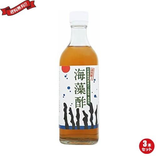 お酢 ドリンク 柿酢 海藻酢 500ml TAC21 3本セット