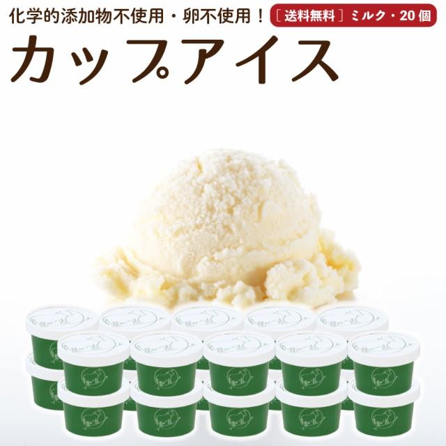 プレゼント ギフト ミルク アイスクリーム 20個 送料無料 無添加 詰め合わせ スイーツ 卵不使用 ギフト お取り寄せ [冷凍]