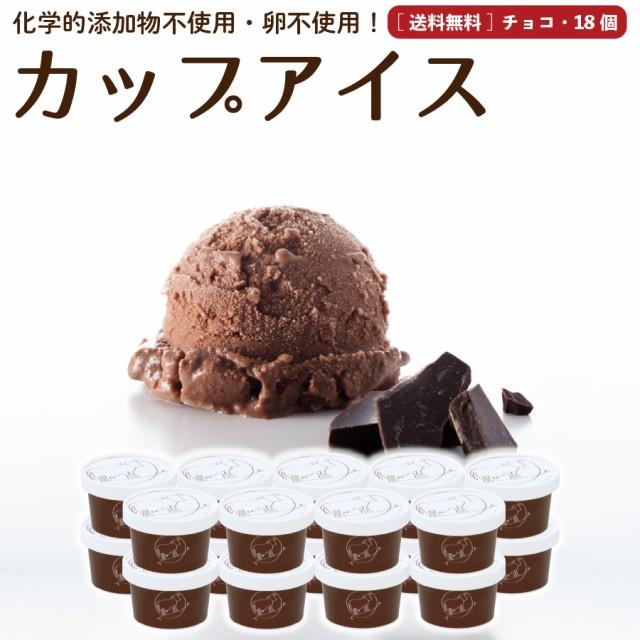 プレゼント ギフト チョコレート アイスクリーム 18個 送料無料 無添加 詰め合わせ スイーツ 卵不使用 ギフト お取り寄せ [冷凍]