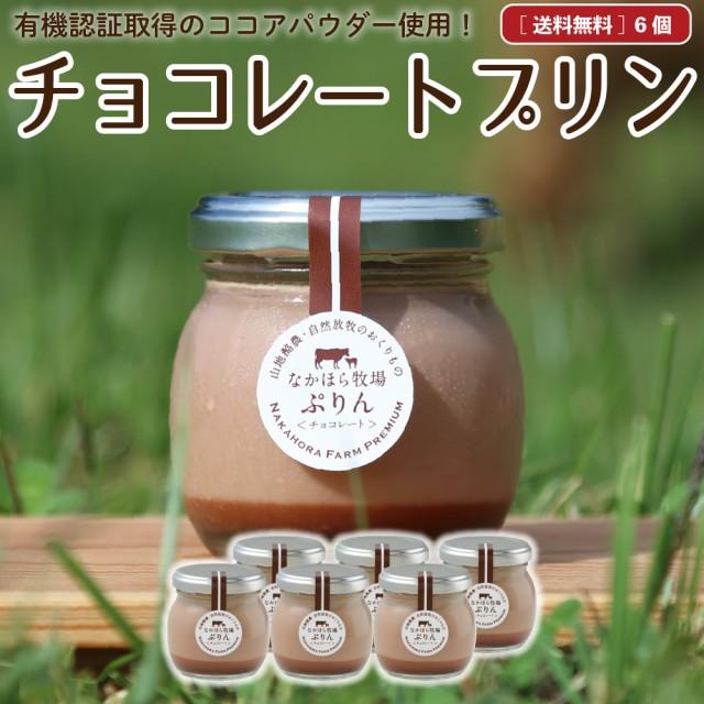 お中元 ギフト プリン 送料無料 詰め合わせ 6個 チョコレート 濃厚 無添加 スイーツ マツコの知らない世界 ギフト 瓶入り お取り寄せ [