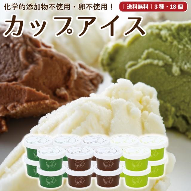 お中元 ギフト 無添加 アイスクリーム 18個 送料無料 卵不使用 詰め合わせ スイーツ ギフト グラスフェッド 有機 お取り寄せ [冷凍] ju