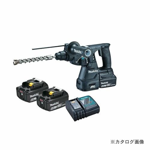 マキタ Makita 18V 6.0Ah 24mm充電式ハンマドリル (バッテリ×2・充電器・ケース付) 黒 HR244DRGXB