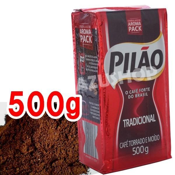 ブラジルコーヒー カフェピロン 500g 深煎り